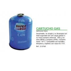 CARTUCHO GAS SUPER-EGO C470