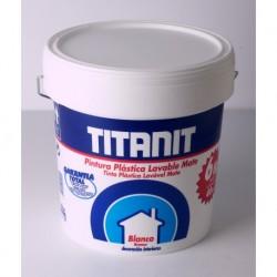 PINTURA PLASTICA TITANIT 4L BLANCO