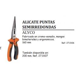 ALICATE PUNTAS SEMIRREDONDAS ALYCO