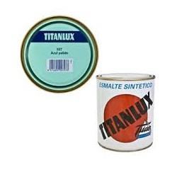 TITANLUX ESMALTE SINTETICO AZUL PALIDO 537